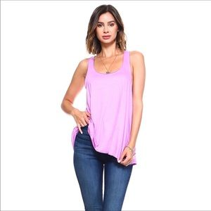 Just in and fab color! Loose Tank Made in USA!